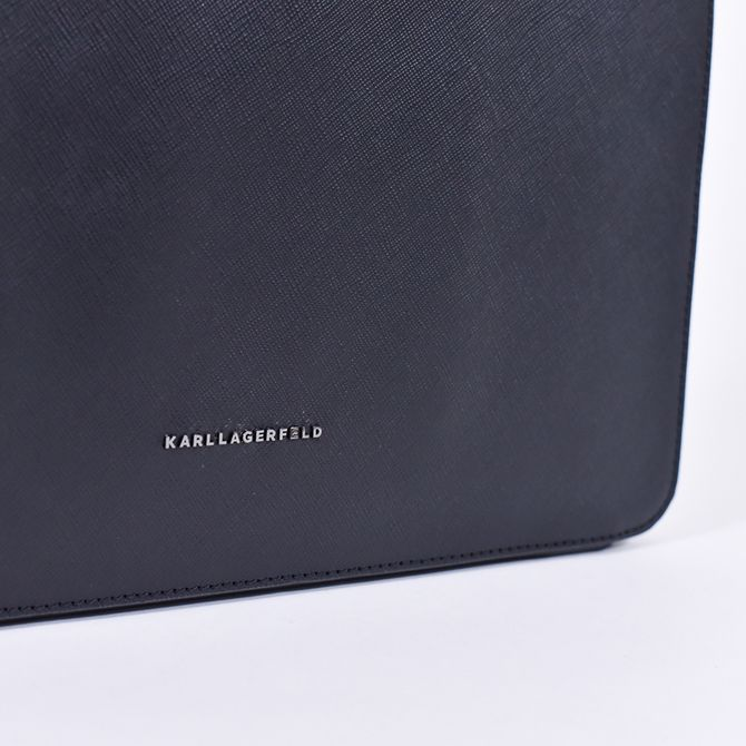 KARL LEATHER POUCH