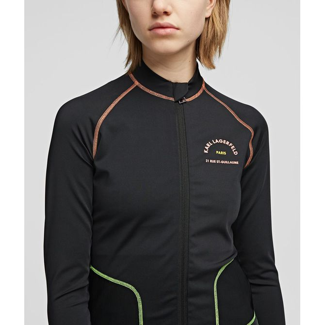 RUE ST-GUILLAUME ZIP-UP TOP