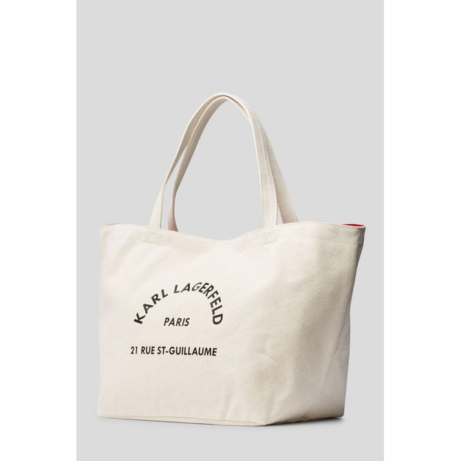 K/RUE ST GUILLAUME CANVAS TOTE
